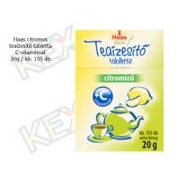 Haas citromos teaízesítő tabletta C-vitaminnal 20g