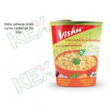 Vishu poharas leves currys csirke ízű 65g