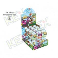 ANL Choco meglepetés tojás Cars 25g