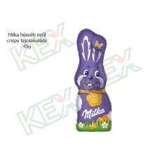 Milka húsvéti nyúl crispy tejcsokoládé 45g