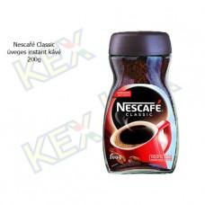 Nescafé Classic üveges instant kávé 200g