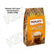 Mokate 3in1 kávé barnacukorral (24db) 408g