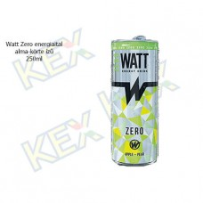 Watt Zero energiaital alma-körte ízű 250ml