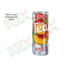 XIXO ice tea őszibarack ízű 0,25l