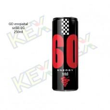 GO energiaital szőlő ízű 250ml
