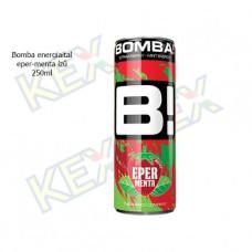 Bomba energiaital eper-menta ízű 250ml