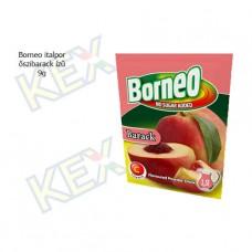Borneo italpor őszibarack ízű 9g