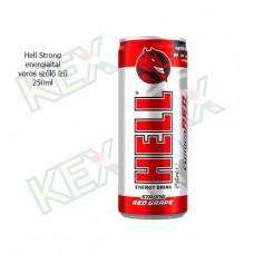 Hell Strong energiaital vörös szőlő ízű 250ml
