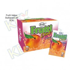 Frutti italpor őszibarack ízű 8,5g