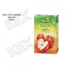 Hello 100% üdítőital alma ízű 250ml