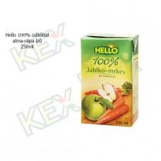Hello 100% üdítőital alma-répa ízű 250ml