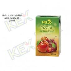 Hello 100% üdítőital alma-meggy ízű 250ml