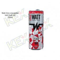 Watt Zero energiaital tutti frutti ízű 250ml