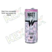Watt Zero energiaital fehér eper-guava 250ml