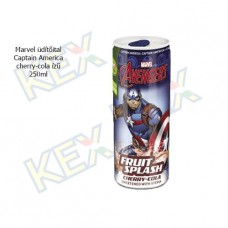 Marvel üdítőital Captain America cherry-cola ízű 250ml