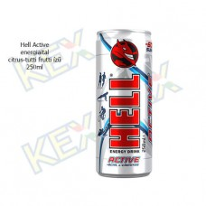 Hell Active energiaital citrus-tutti frutti ízű 250ml