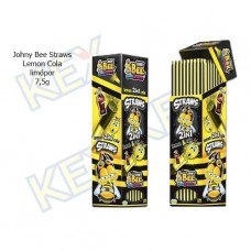 Johny Bee Straws Lemon Cola limópor 7,5g