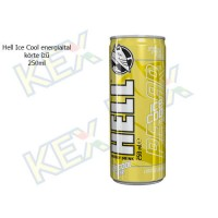 Hell Ice Cool energiaital körte ízű 250ml
