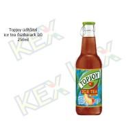 Topjoy üdítőital ice tea őszibarack ízű 250ml