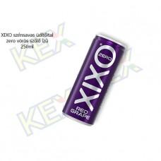 XIXO szénsavas üdítőital zero vörös szőlő ízű 250ml