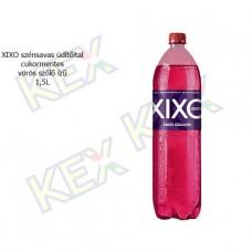 XIXO szénsavas üdítőital zero vörös szőlő ízű 1,5L