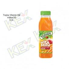 TopJoy Vitamin ital málna ízű 0,3L