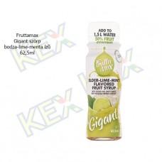 Fruttamax Gigant szörp bodza-lime-menta ízű 62,5ml