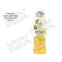 Fruttamax Gigant Light szörp citrom-lime ízű 62,5ml