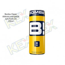 Bomba Classic dobozos energiaital tutti frutti ízű 250ml