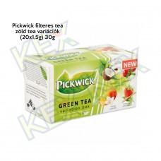 Pickwick filteres tea zöld tea variációk (20x1,5g) 30g