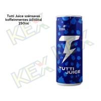 Tutti Juice szénsavas koffeinmentes üdítőital 250ml