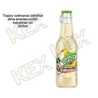 Topjoy szénsavas üdítőital ananász-szőlő-kakaóbab 250ml