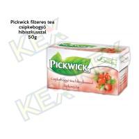 Pickwick filteres tea csipkebogyó-hibiszkusz ízű 50g