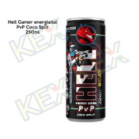 Hell Gamer energiaital PvP Coco Split 250ml
