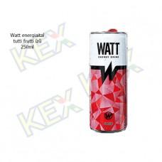 Watt Classic energiaital tutti frutti ízű 250ml