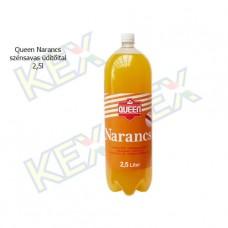 Queen szénsavas üdítőital narancs ízű 2,5L