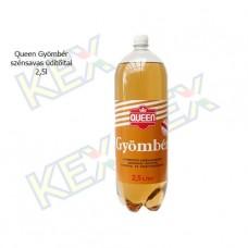 Queen szénsavas üdítőital gyömbér ízű 2,5L