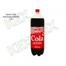 Queen szénsavas üdítőital cola ízű 2,5L