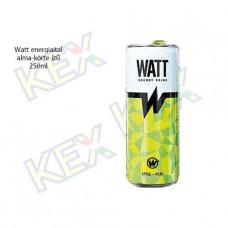 Watt energiaital alma-körte ízű 250ml