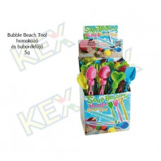 Bubble Beach Tool homokozó és buborékfújó 5g