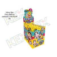 Johny Bee Party Balloon pattogós cukorkával 8g