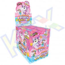 Johny Bee Unicorn Party Balloon pattogós cukorral 8g