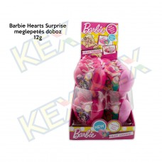 Barbie Hearts Surprise meglepetés doboz 12g