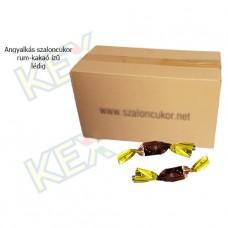 Angyalkás szaloncukor rum-kakaó ízű lédig