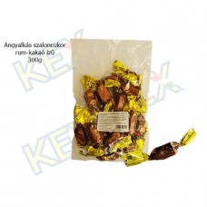 Angyalkás szaloncukor rum-kakaó ízű 300g