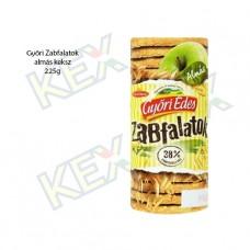 Győri Édes Zabfalatok keksz alma ízű 225g