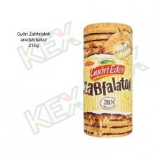 Győri Édes Zabfalatok keksz 215g