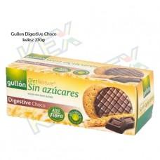 Gullon Digestive Choco teljes kiőrlésű keksz 270g