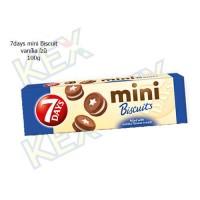 7days mini Biscuit vanília ízű 100g