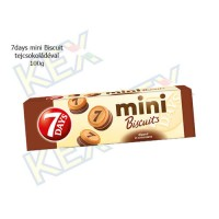 7days mini biscuit tejcsokoládés 100g